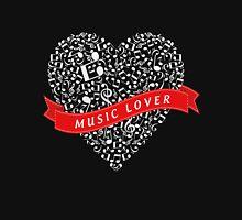Music Lover (White) T-Shirt