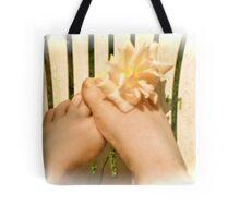 Play footsies with me Tote Bag
