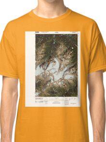 USGS Topo Map Washington State WA Mount Olympus 20110503 TM Classic T-Shirt