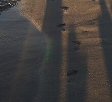 Stranges footprints by Sezbomb
