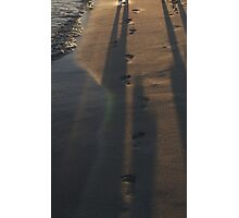 Stranges footprints Photographic Print