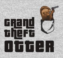Grand Theft Otter by kittykatia