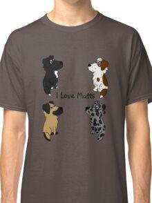 I Love Mutts! Classic T-Shirt
