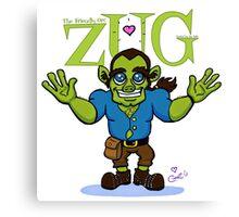 ZUG HUG-O-DAY! Canvas Print