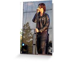 Julian - The Strokes Greeting Card