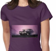 UCSMOKE Tread Cemetery Skid Womens Fitted T-Shirt