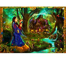 Snow White Photographic Print