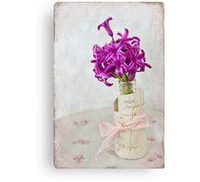 Vintage Hyacinth Canvas Print