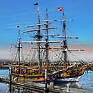 The Fantasy of Tall Ships by linaji
