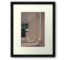 Colonial Portrait Framed Print