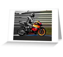 Casey Stoner 2011 - Making history Greeting Card
