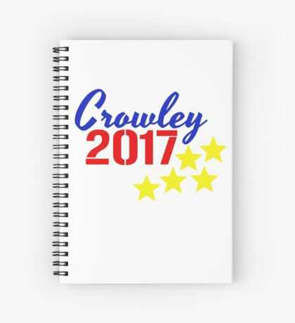 Crowley 2017 Spiral Notebook