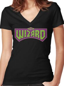 The Wizard Women's Fitted V-Neck T-Shirt