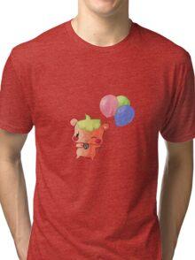 Watercolour Hamster Tri-blend T-Shirt