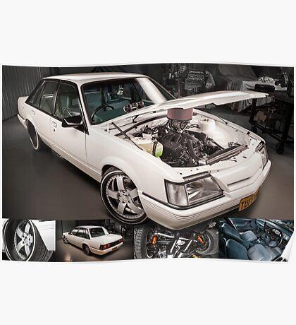 Chris Irvin's Holden VK Commodore Poster
