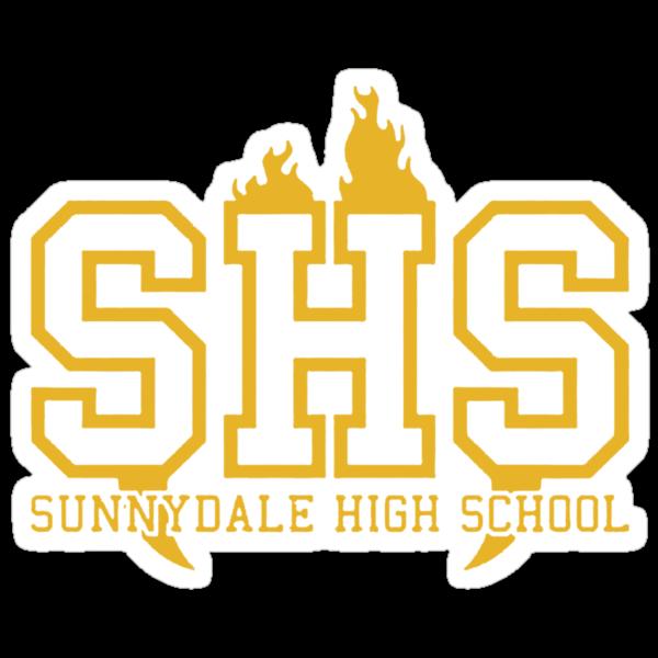 Sunnydale High School by Fiona Boyle