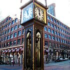 Steam Clock by Britland Tracy