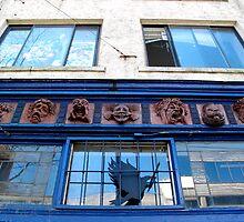 Masked Façade by Britland Tracy