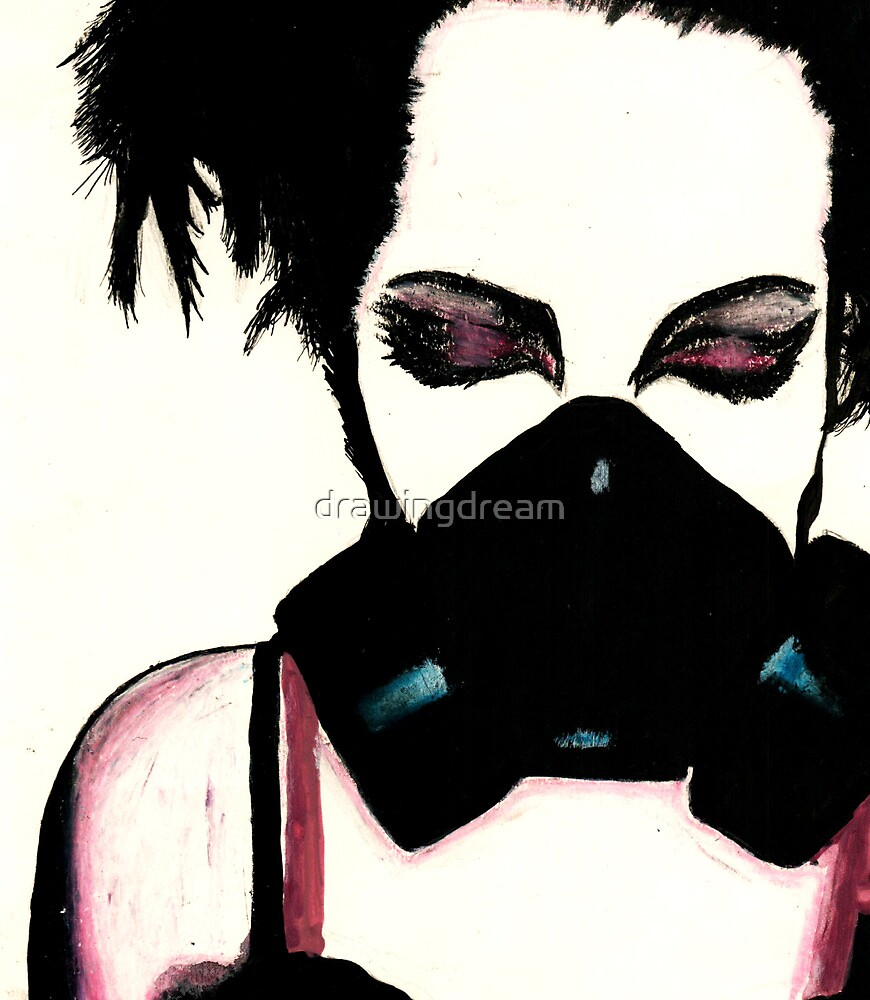 Gas Mask by drawingdream