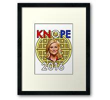 Leslie Knope for President Framed Print