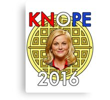 Leslie Knope for President Canvas Print