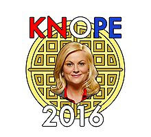 Leslie Knope for President Photographic Print