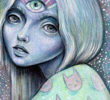 Magical Girl Allison Sticker