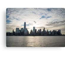 Sunrise Over NYC #1 Canvas Print