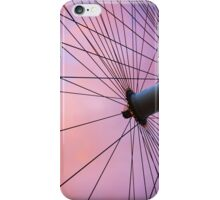 Lavender Sky and London Eye Wheel iPhone Case/Skin