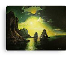 Lost Shores Canvas Print