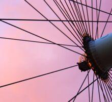 Lavender Sky and London Eye Wheel Sticker