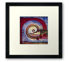 """""""In the World of Balance"""" from the series """"Tales from the Unknown Book"""" Framed Print"""