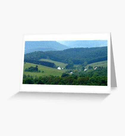 Beautiful Valley Greeting Card