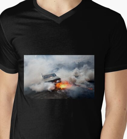 UCSMOKE Epicness Mens V-Neck T-Shirt