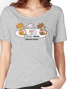 Kawaii Chateau Kitty Wine Bottle  Women's Relaxed Fit T-Shirt