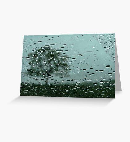 Rainy Day Shoot Greeting Card