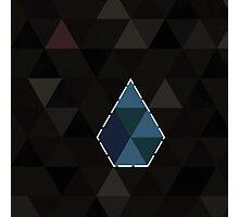 Lodestone (Triangles Pattern) Photographic Print