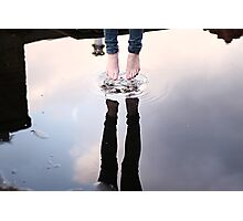 Jump & touch the sky Photographic Print