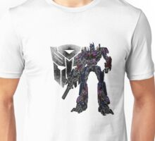 Glowing Optimus Unisex T-Shirt