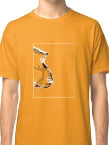 Chimp White Grey F Classic T-Shirt