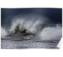 Winter Waves At Pipeline 8 Poster
