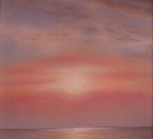 'Burnham Sunset 1' by Dawn Jones Art