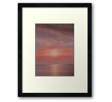 'Burnham Sunset 1' Framed Print