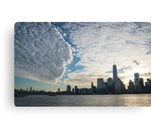 Sunrise Over NYC #2 Canvas Print