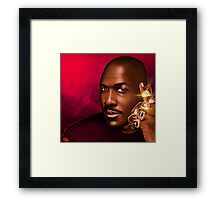 "MICHAEL JORDAN ""HIS ROYAL AIRNESS"" Framed Print"