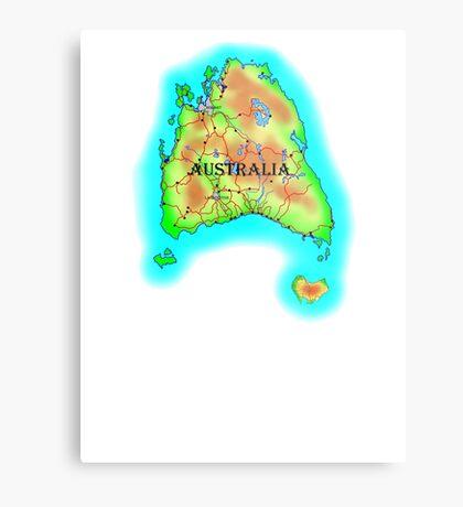 Tasmania's Australia Metal Print