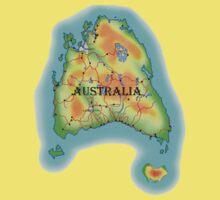 Tasmania's Australia Kids Tee