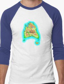 Tasmania's Australia Men's Baseball ¾ T-Shirt