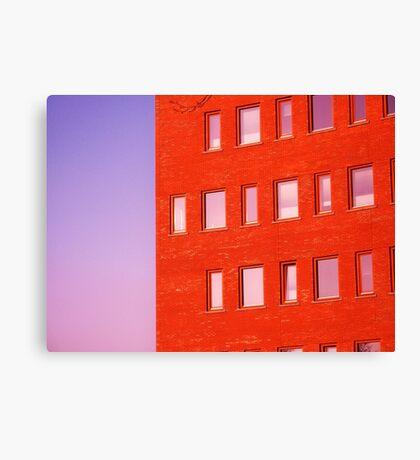 façade Canvas Print