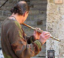 flutist by Anne Scantlebury